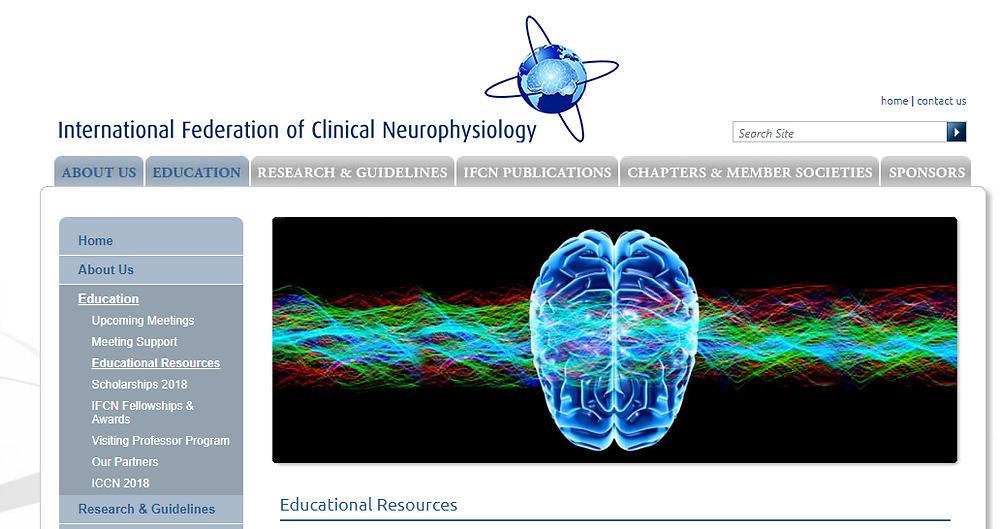 IFCN SCORE EEG Educational Platform