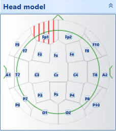 Clickable Head Model