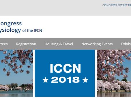 Attending ICCN 2018!