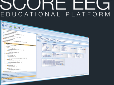 Free SCORE EEG Educational Platform Webinar February 27th