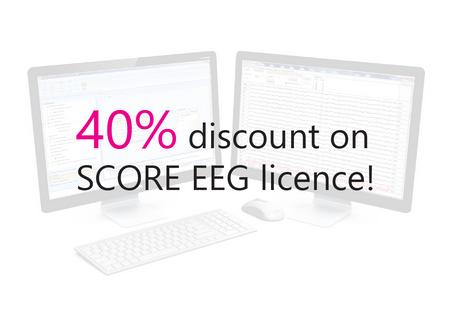 40% discount on SCORE EEG!