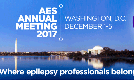 Meet us at the American Epilepsy Society's annual meeting in Washington 1-5th December