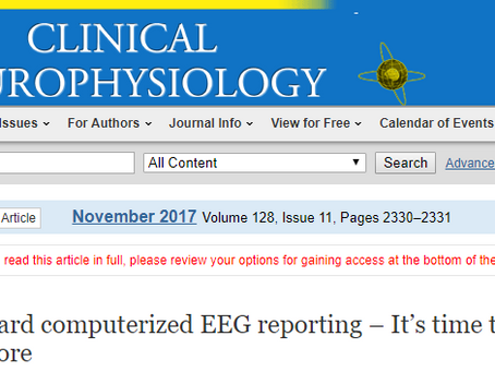 Standard computerized EEG reporting - In Clinical Neurophysiology