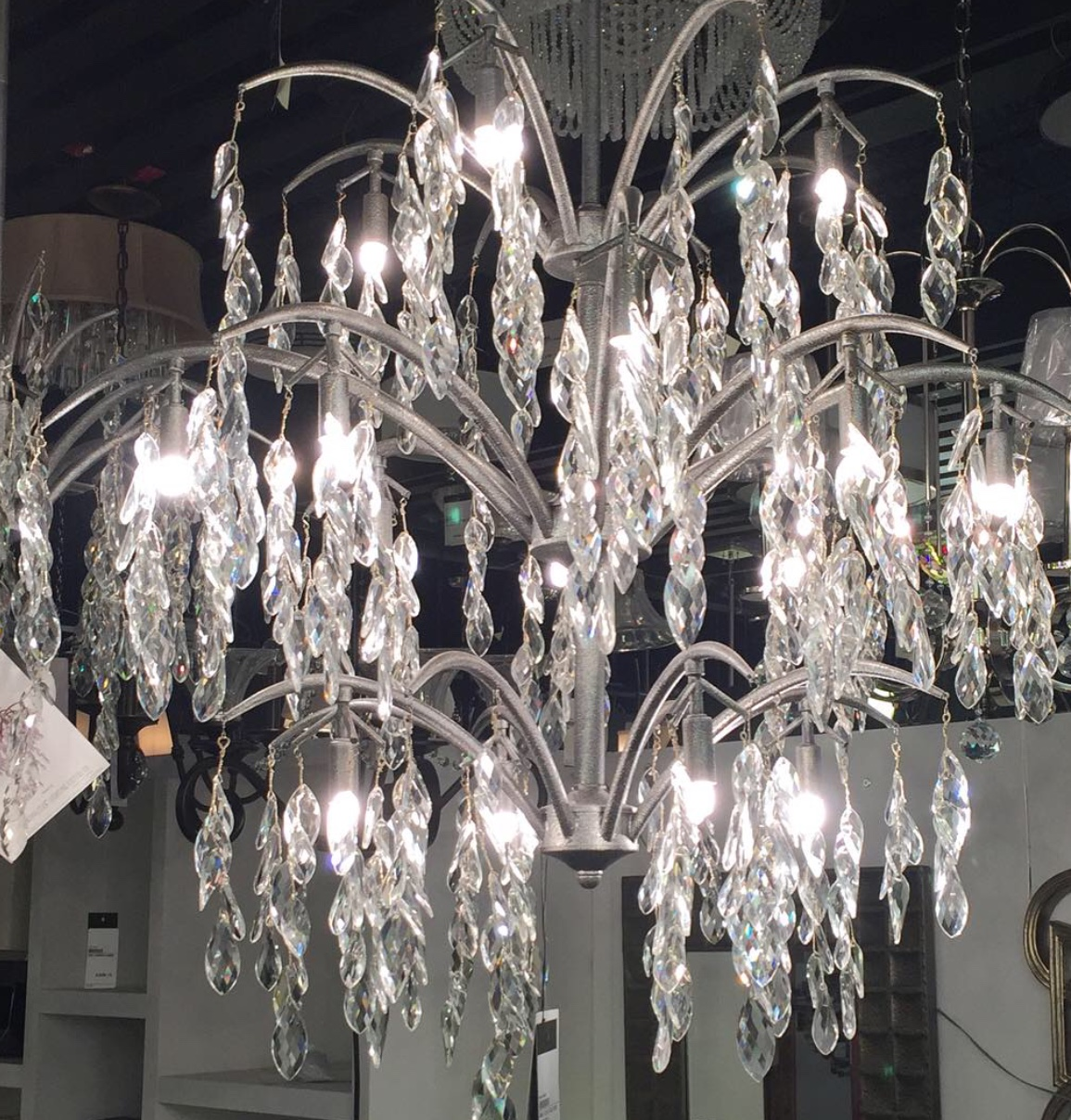 Bella Flora Chandelier