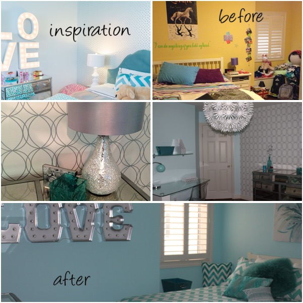 Tween Bedroom Update
