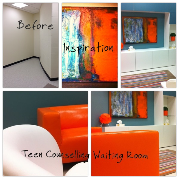 Teen Counselling Waiting Room