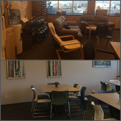 Staff Room - Before & After
