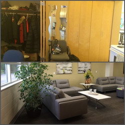 Staff Lounge - Before & After