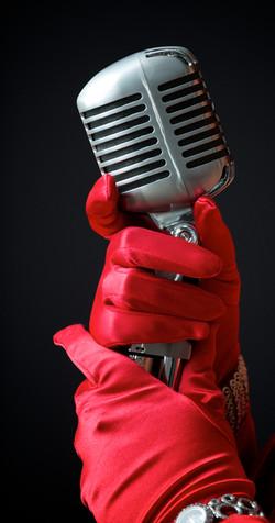 Red Gloves Maureen Washington Photo by Dean Kalyan