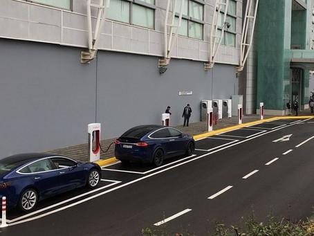 Εγκαίνια της Tesla για τον πρώτο σταθμό Supercharger στην Ελλάδα