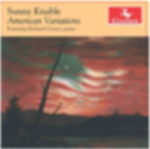 Sunny Knable America Variations album Centaur Records