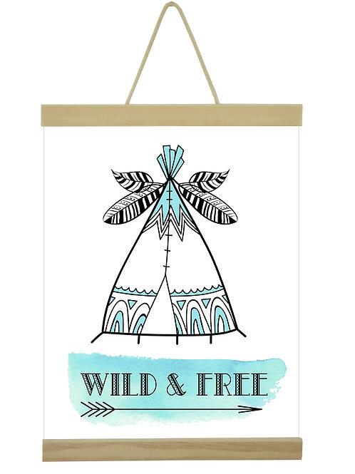 Wild & Free Tee Pee T