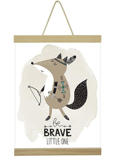 Be Brave fox