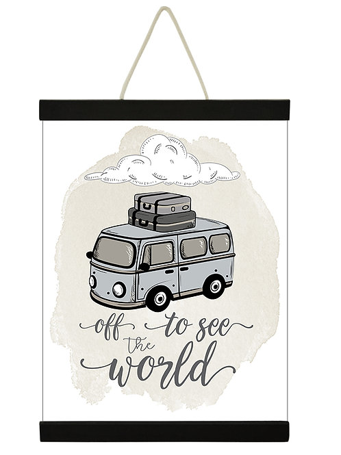 Off To See The World VW Boy