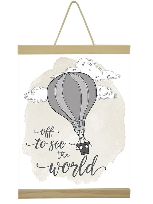 Off To See The World Hot Air