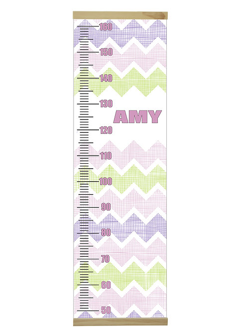 Chevron Pink growth chart
