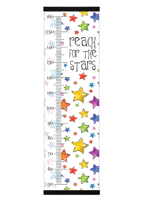 Reach for the stars growth chart