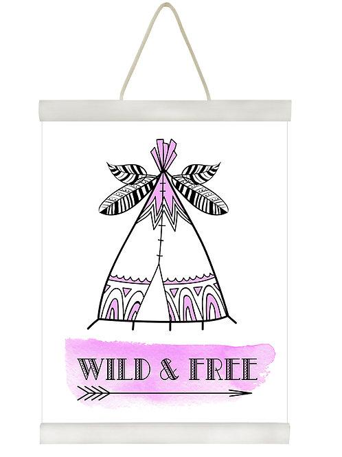 Wild & Free Tee Pee P