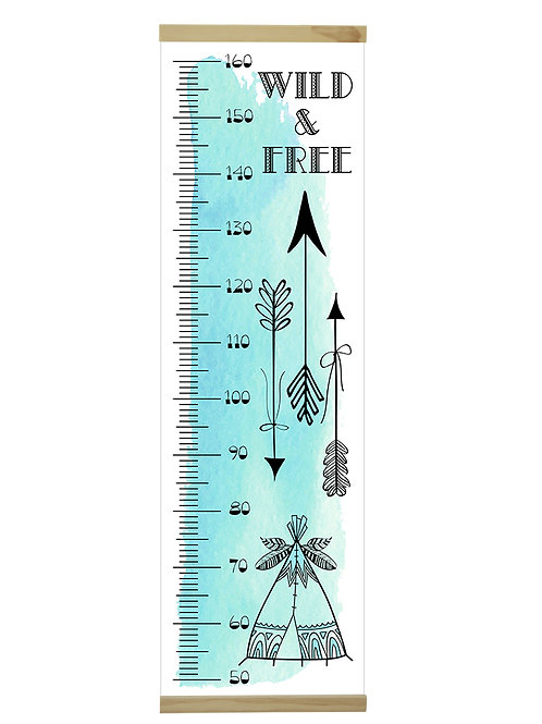 Wild & Free growth chart