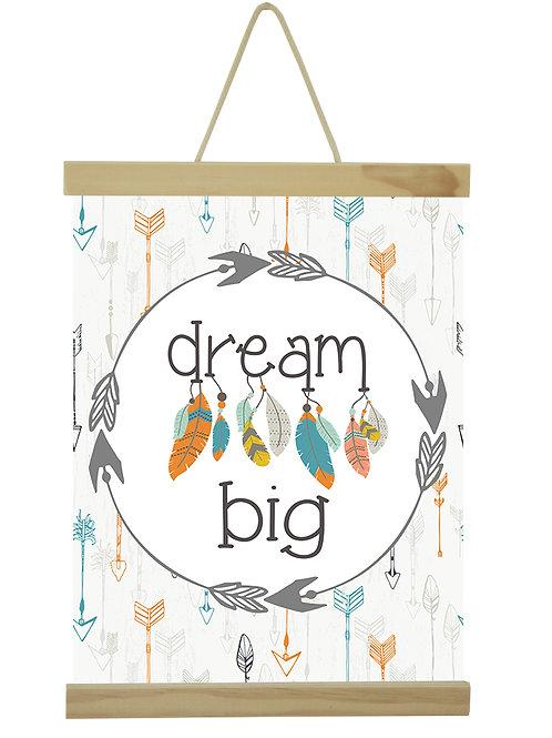 Dream big teal