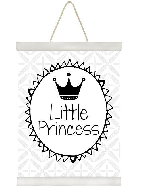 Little Princess B&W