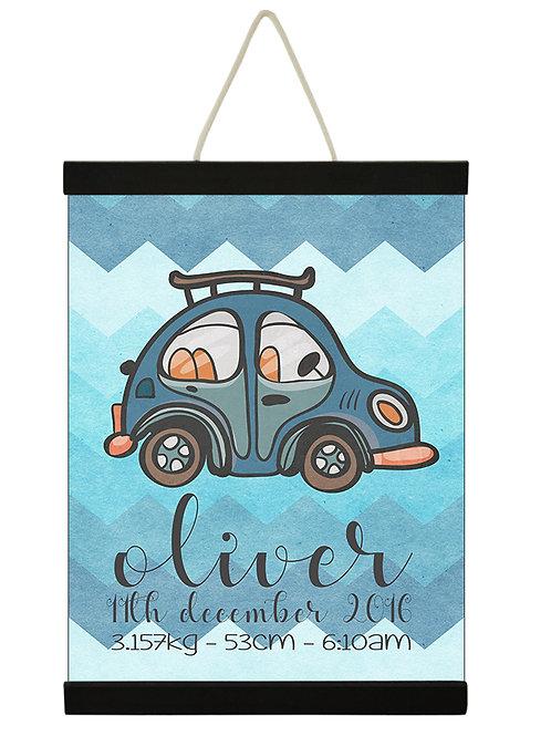 Car Birth Print