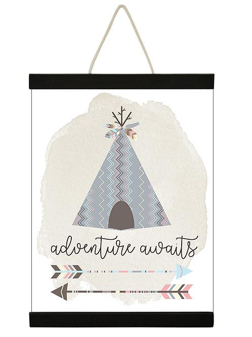 Adventure Awaits Tee Pee