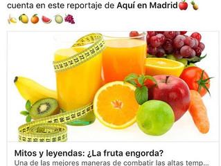 Mitos y leyendas: ¿La fruta engorda?