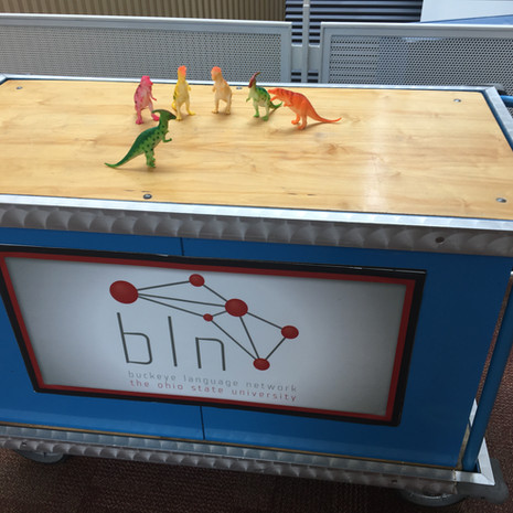 Dinosaur Demo Carts