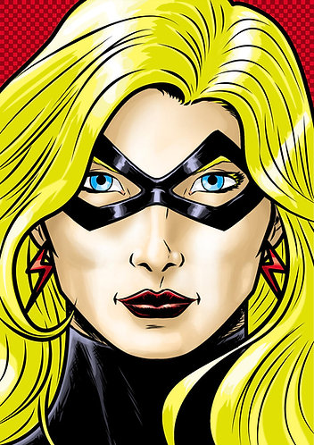 Ms. Marvel HeadShot