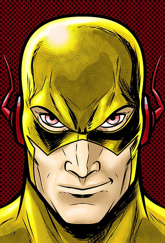 Reverse Flash HeadShot