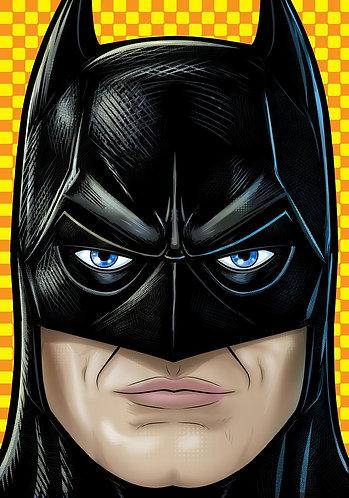 Keaton Batman Headshot