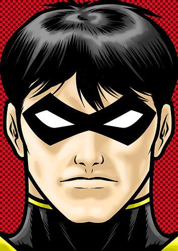 Tim Drake Robin HeadShot