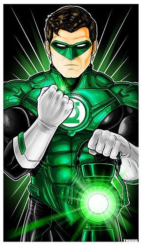 Green Lantern Hal Jordan Icon