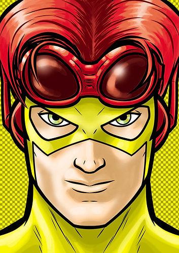 Kid Flash HeadShot