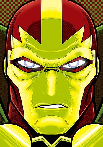Mr Miracle HeadShot