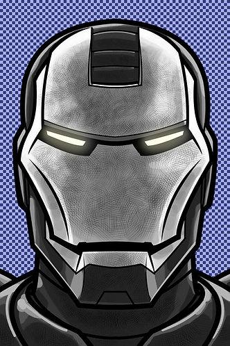 War Machine HeadShot