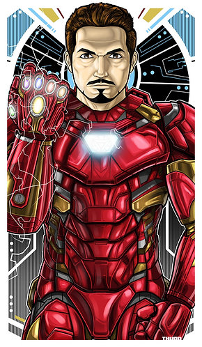 Tony Stark Ironman Icon