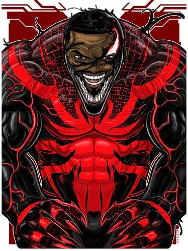 Miles Venom Face ICON