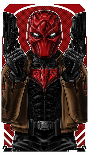 Red Hood Masked Icon