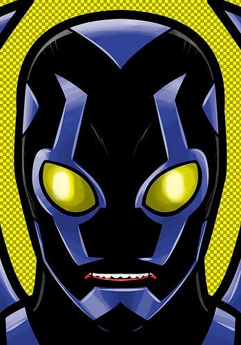 Blue Beetle HeadShot