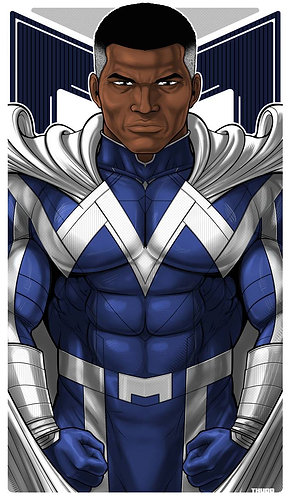 Blue Marvel ICON