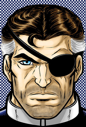 Nick Fury HeadShot