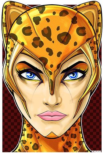 Cheetah Headshot