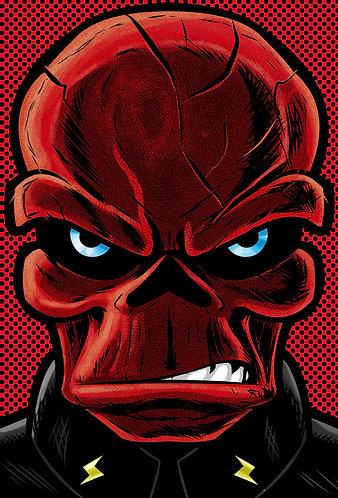 Red Skull HeadShot
