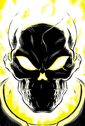Ghost Rider HeadShot