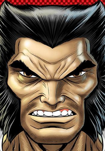 Wolverine Logan HeadShot