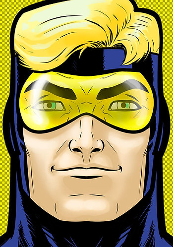 Booster Gold HeadShot