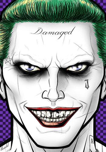 Jared Leto Joker HeadShot