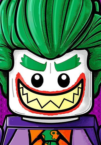 Lego Joker HeadShot